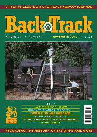 BackTrack Cover November 2012