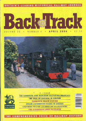 BackTrack Cover April 2006