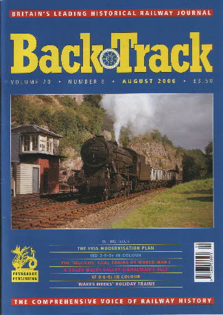 BackTrack Cover August 2006