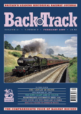 BackTrack Cover Feb 2007