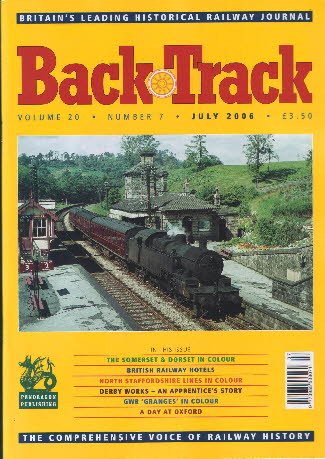 BackTrack Cover July 2006