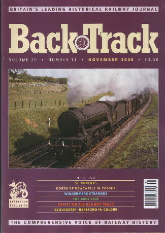 BackTrack Cover November 2006