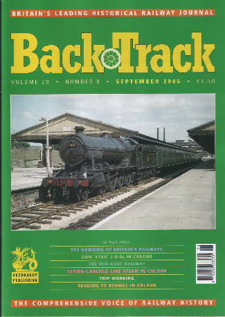 BackTrack Cover September 2006