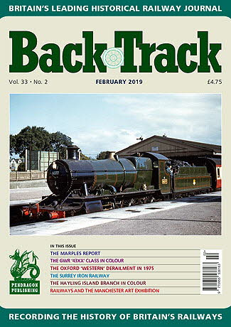 BackTrack Cover February 2019