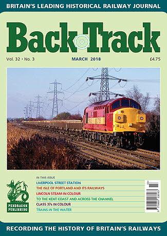 BackTrack Cover March 2018